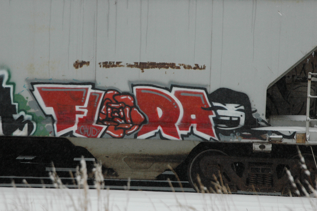 flora graffiti