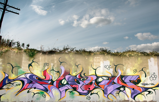 flown graffiti