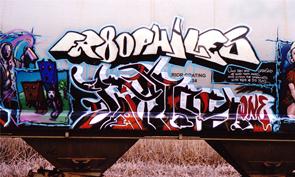 Fr8ophiles Graffiti