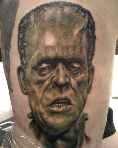 frankenstien tattoo