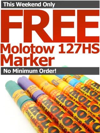 free molotow marker
