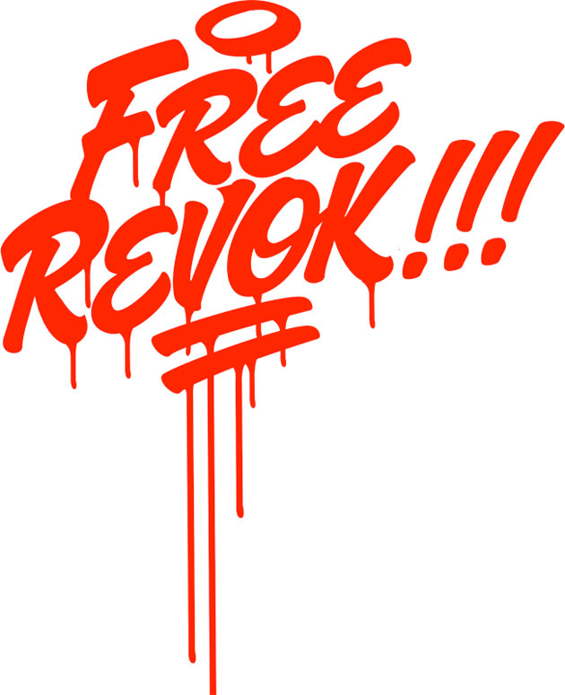 free revok t-shirt design