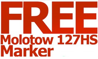Get Your FREE Molotow Marker