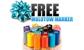Free Molotow Markers