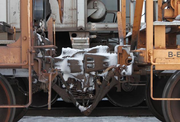 frozen train knuckles
