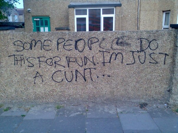 Funny Wall Graffiti
