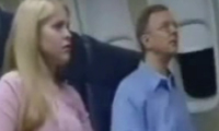 Suspicious People On A Plane