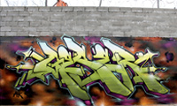 New Geser Graffiti Wall