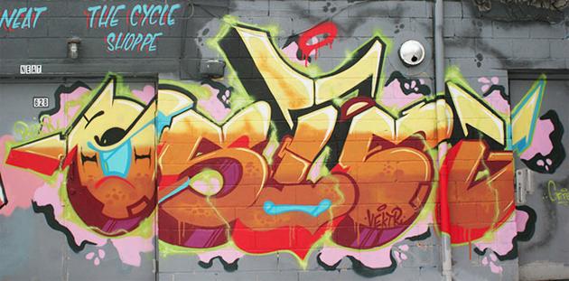getso graffiti backwards