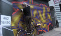Mike Giant Stop Motion Graffiti Video