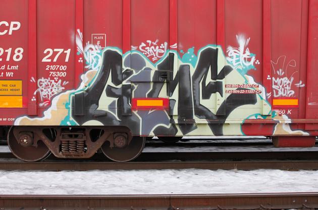 gime freight graffiti