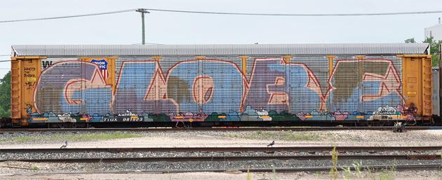 globe graffiti wholecar
