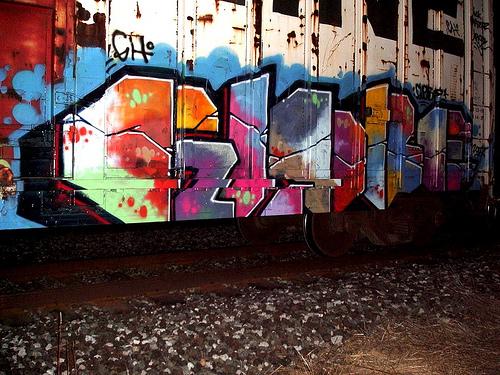 Globe Freight Graffiti