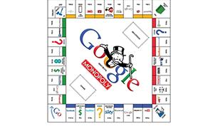 Google Monopoly Board