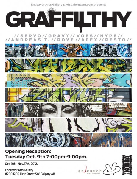 graffilthy graffiti art show