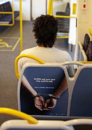 Anti-Graffiti Advertisement