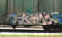 Graffiti Freight Benching