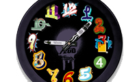 Jaes Graffiti Clock
