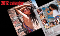 2012 Graffiti on Girls Calendar