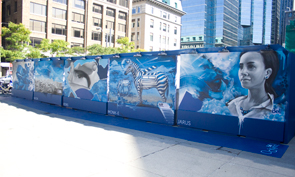 Graffiti at TIFF 2012