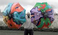 Graffiti Umbrellas