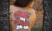Graffiti Body Art Calendar