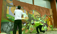 Graffuturism Graffiti Video