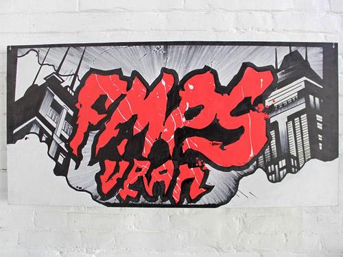 grammatika graffiti canvas russia