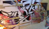 Grammatika Graffiti Event in Russia