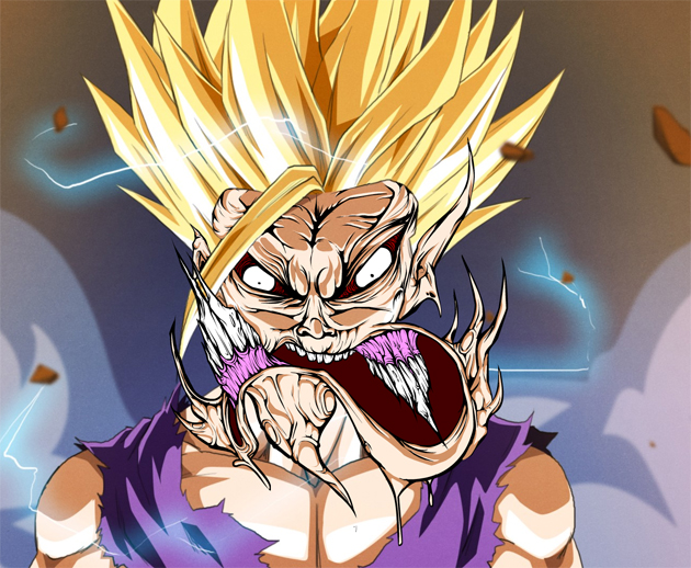 Dragon Ball Z Cartoon Characters Names : Gromified cartoon characters senses lost