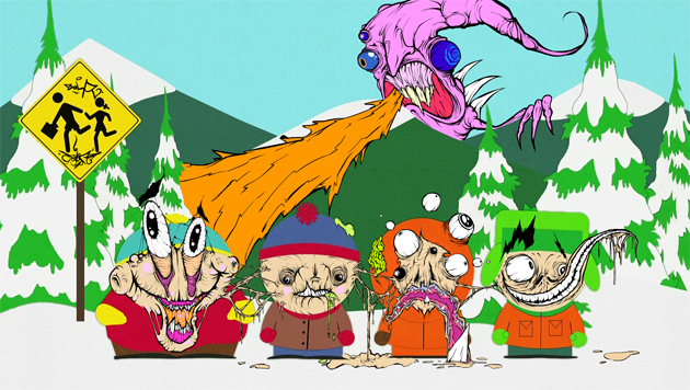 grominate south park characters