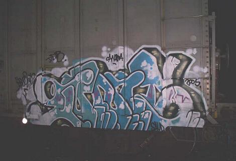 Gums Freight Graffiti