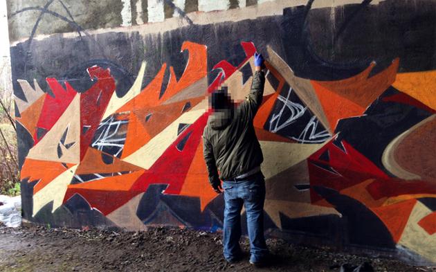 halloween wall 2012