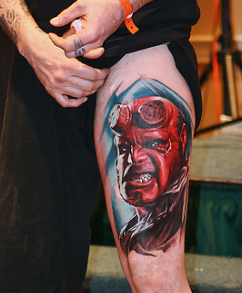 Hell Boy Tattoo