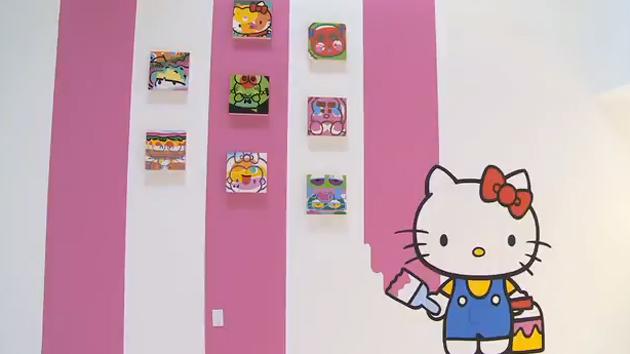 hello kitty hello art