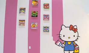 """Hello Kitty, Hello Art!"" at Known Gallery"