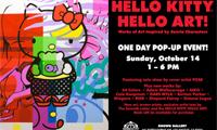 Pose Graffiti and Hello Kitty
