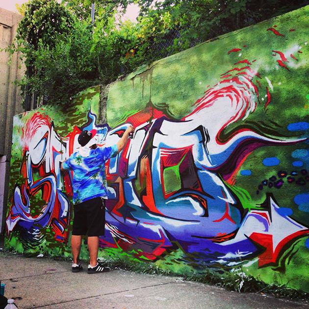 hellomelo graffiti