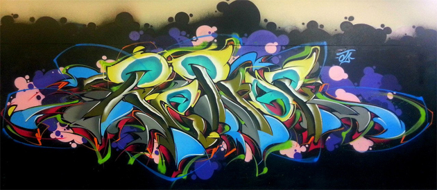 henok graffiti painting