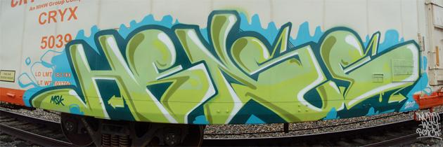 Hense Graffiti Freight