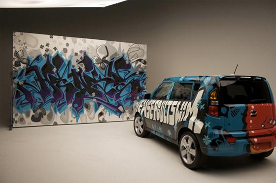 Hense Graffiti KIA