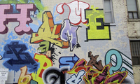 The Home Base Graffiti Mural