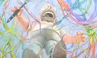 Ron English Paints Homer Simpson