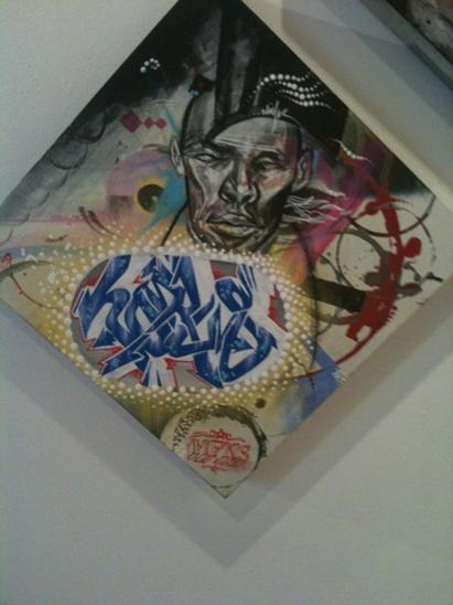 horus elicser graffiti canvas