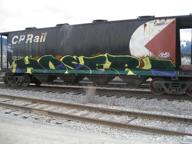 hoser freight graffiti end 2 end