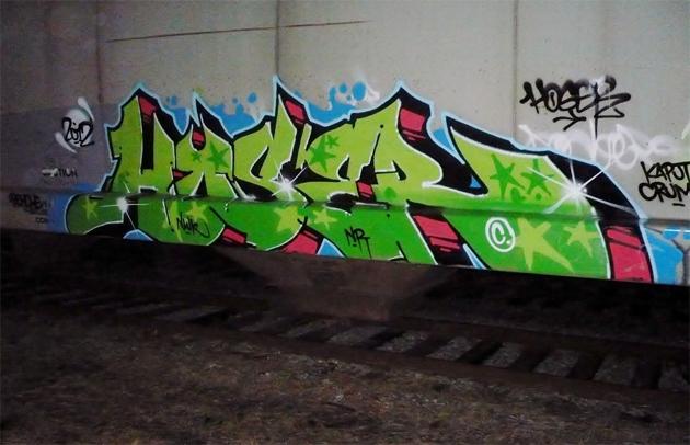 hoser freight graffiti