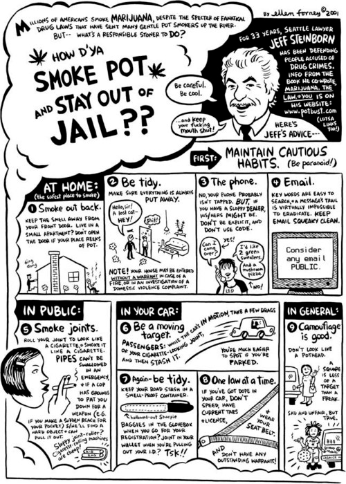 how to smoke pot and-stay out of jail