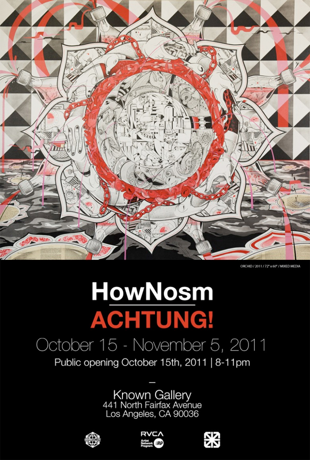 how nosm art opening known gallery