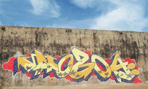 Hozoi Mosaic Graffiti
