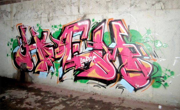 huem graffiti los angeles